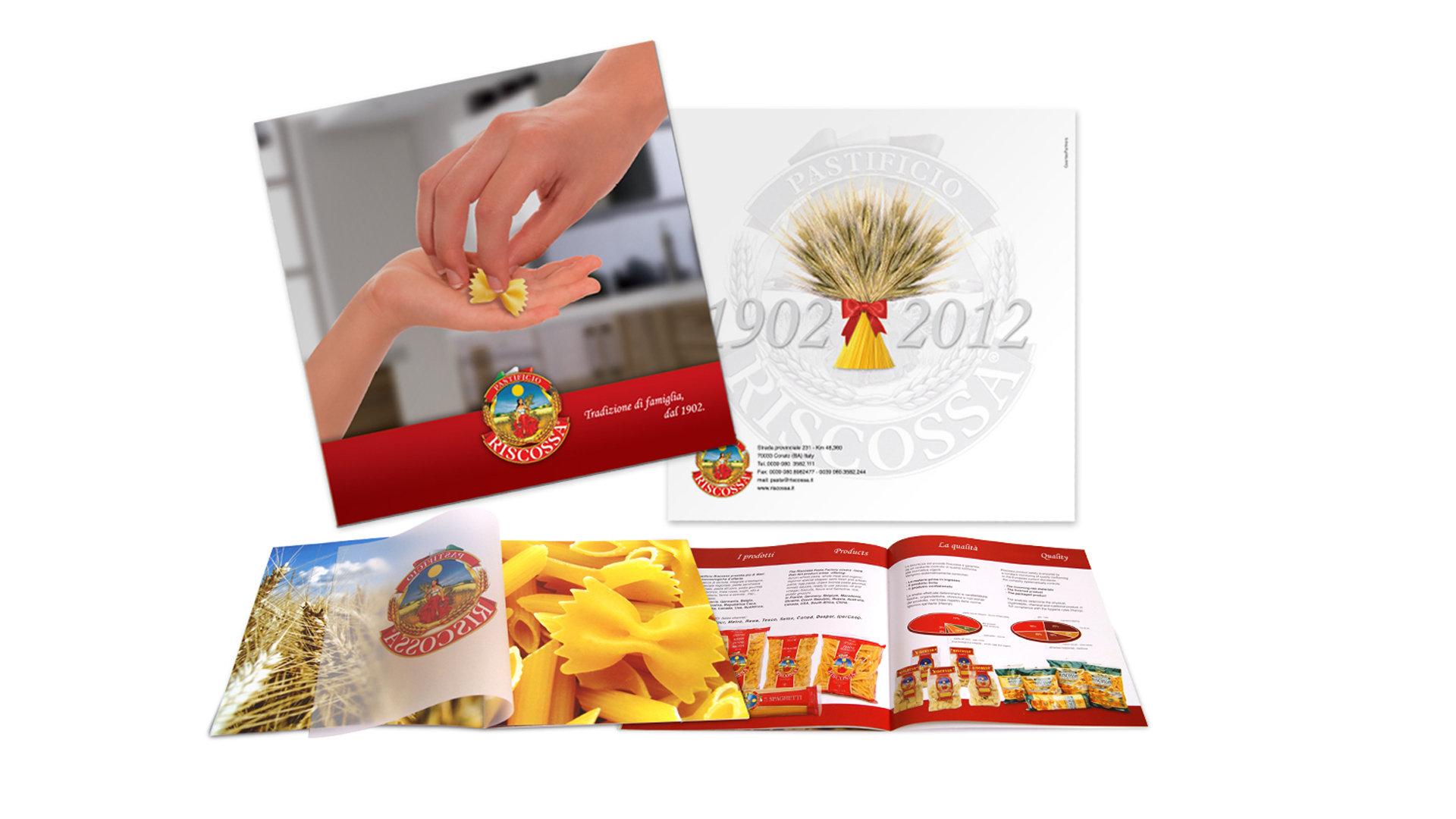 Brochure Pastificio Riscossa