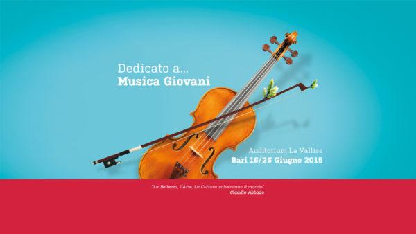 Camerata Musicale Barese schermata web dedicato a...musica giovani