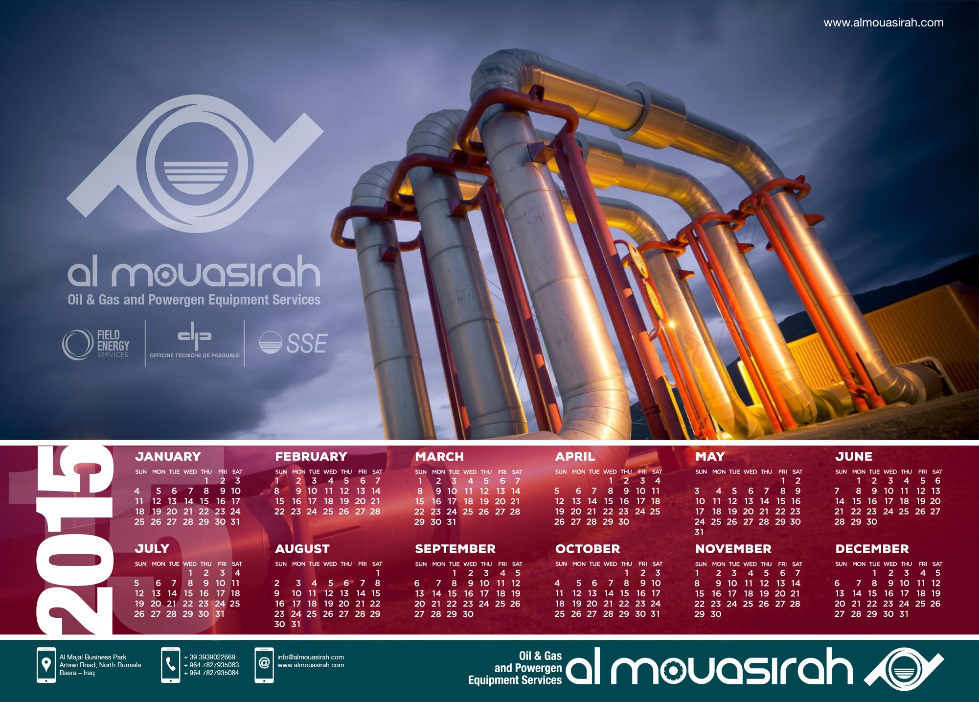 poster/calendario