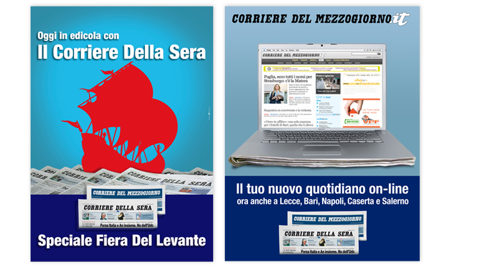 advertising presidio Fiera del Levante - advertising quotidiano on line
