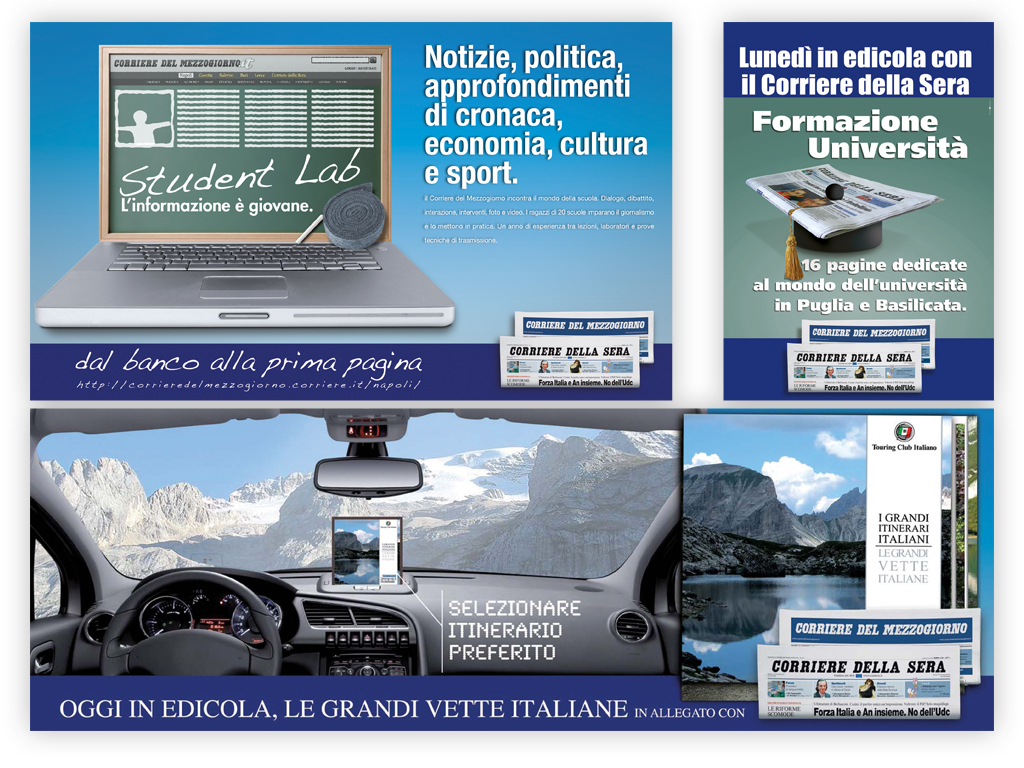 advertising prodotti editoriali