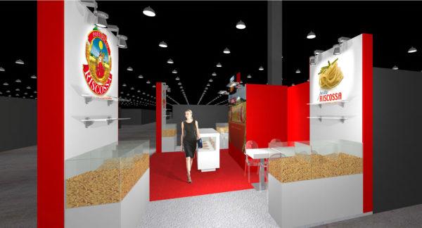 personalizzazione stand Cibus 2012